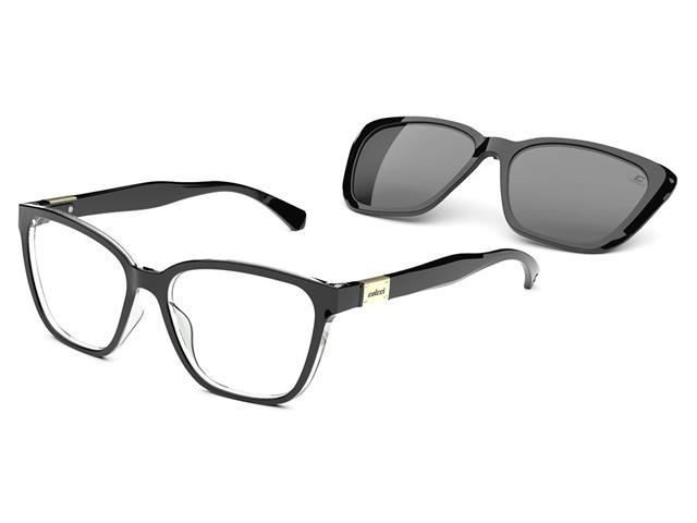 Óculos de Grau Colcci Bandy 3 Preto Parede Translúcido