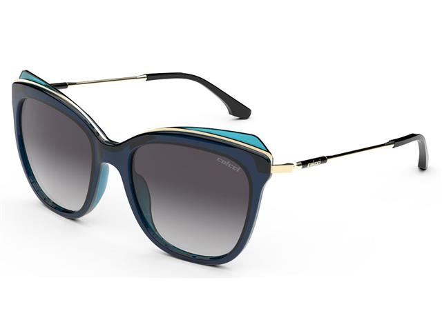 Óculos de Sol Colcci Lua Azul Escuro Parede com Azul Claro