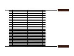 Grelha Tramontina Churrasco Black em Aço Carbono com Cabos de Madeira - 1