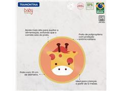 Prato Infantil Tramontina Baby Friends em Polipropileno Amarelo - 4