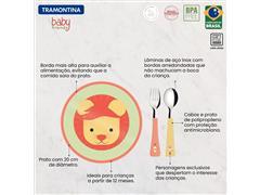 Jogo Infantil Tramontina Baby Friends Colorido 3 Peças - 3