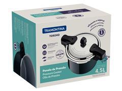 Panela de Pressão Tramontina Torino Verde Petróleo 20CM 4,5 Litros - 4