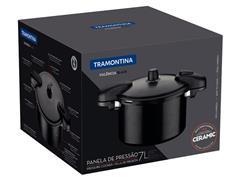 Panela de Pressão Tramontina Valência Black 24CM 7 Litros - 4