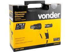 Soprador Térmico Digital Vonder STV1800 110V - 5