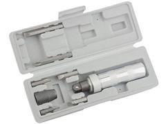 Chave de Impacto Manual MTX 1/2 Polegadas com Bits 6 Peças - 1