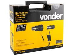Soprador Térmico Digital Vonder STV1800 - 5