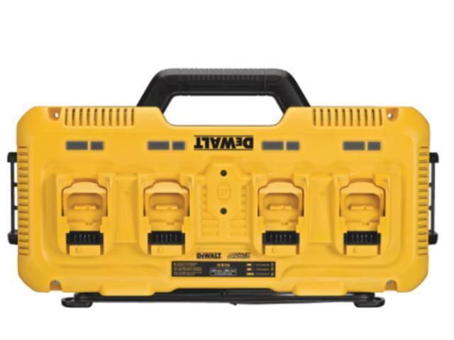 Multicarregador de Bateria 12V-20V DeWalt Max 4 Entradas