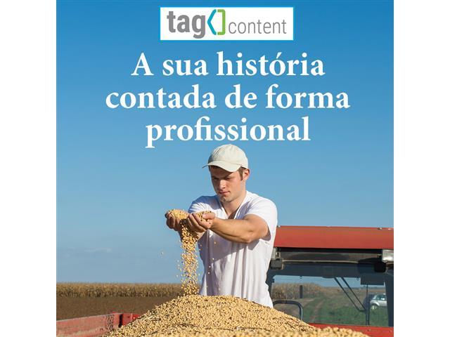 A história da sua empresa contada de forma profissional - Tag Content