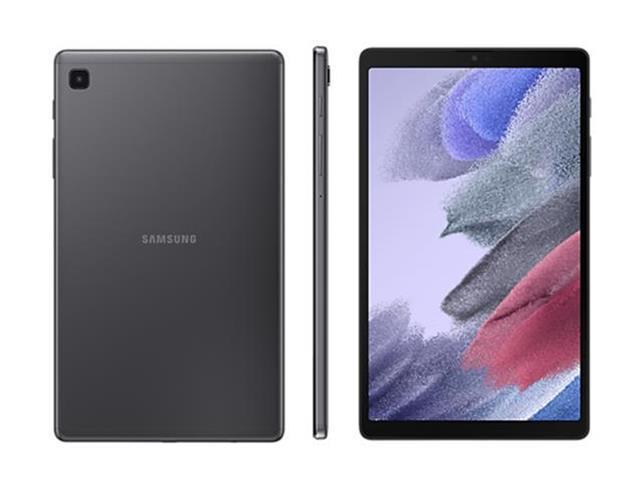 """Tablet Samsung Galaxy Tab A7 Lite 8.7"""" 4G 64GB 3GB RAM Câm 8MP Cinza"""