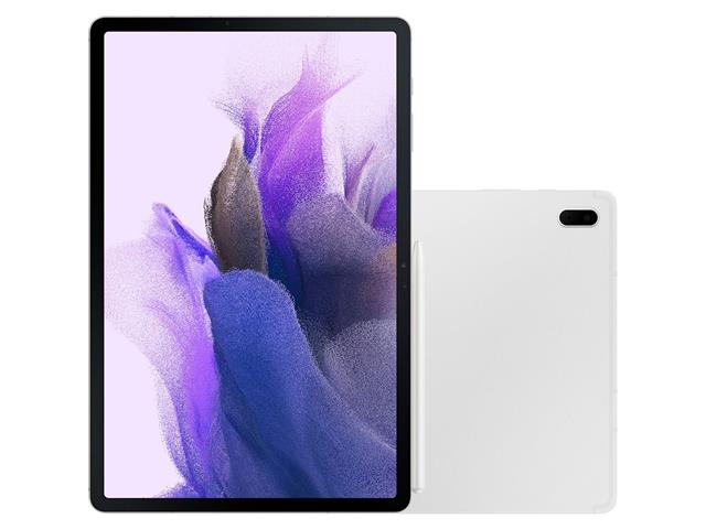 "Tablet Samsung Galaxy Tab S7 FE 12.4"" S PEN 4G 128GB 6GB RAM 8MP Prata"
