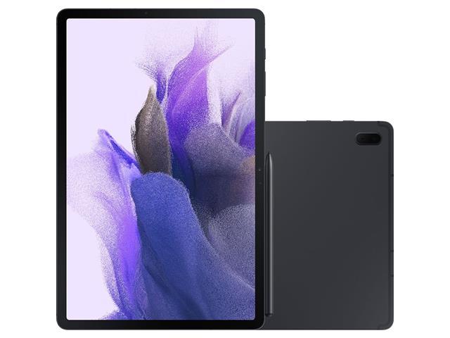 "Tablet Samsung Galaxy Tab S7 FE 12.4"" S PEN 4G 128GB 6GB RAM 8MP Preto"