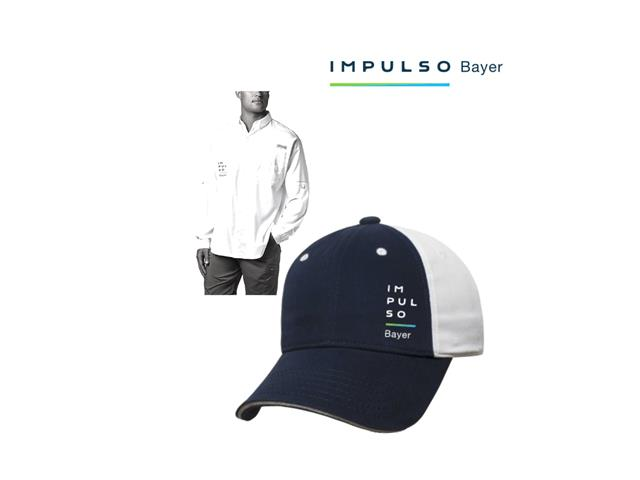 Kit Camisa + Gorra Impulso Bayer