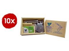 Combo 10 Seringas Automáticas de Vacinação Hoppner 50ml com Estojo