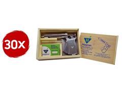 Combo 30 Seringas Automáticas de Vacinação Hoppner 50ml com Estojo