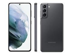 "Smartphone Samsung Galaxy S21 5G 128GB 6.2"" 64+12+12MP Cinza+Powerbank - 1"