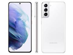 "Smartphone Samsung Galaxy S21 5G 128GB 6.2""64+12+12MP Branco+Powerbank - 1"