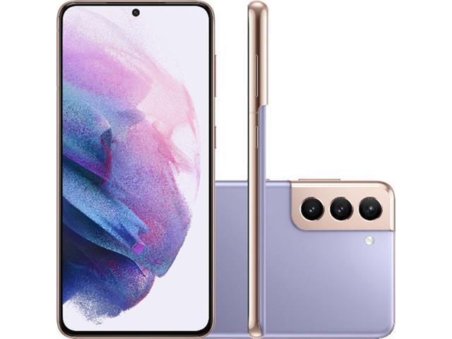 "Smartphone Samsung Galaxy S21 5G 128GB 6.2"" 64+12+12 Violeta+Powerbank"