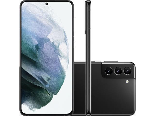 "Smartphone Samsung Galaxy S21+ 5G 128GB 6.7""64+12+12MP Preto+Powerbank"