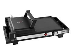 Grill Elétrico Press Philco PGR02P 3 em 1 Black