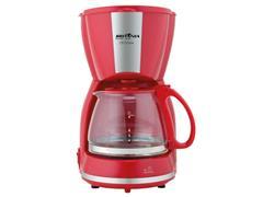 Cafeteira Britânia CP15 Inox Vermelha 550W - 1