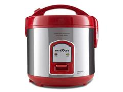 Panela de Arroz Elétrica Britânia BPA6V Visor Glass Red 6 Xícaras - 0