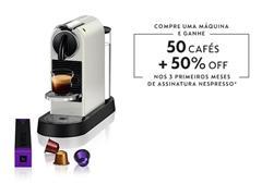 Cafeteira Nespresso Automática CitiZ D113 Kit Boas Vindas Branca - 0