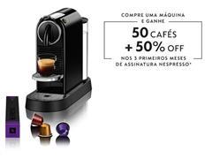 Cafeteira Nespresso Automática CitiZ D113 Kit Boas Vindas Preta - 0