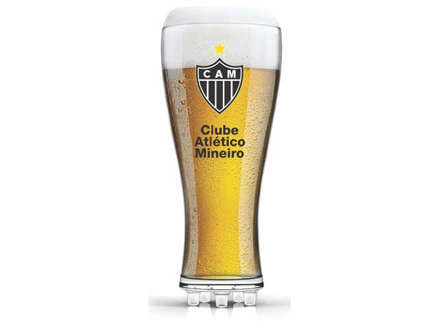 Copo para Cerveja em Formato de Chuteira Atlético 370ML