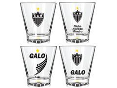 Kit Caipirinha Atlético com 4 Copos York de 350ML Cada