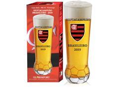 Copo para Cerveja em Formato de Bola Flamengo Heptacampeão 370ML