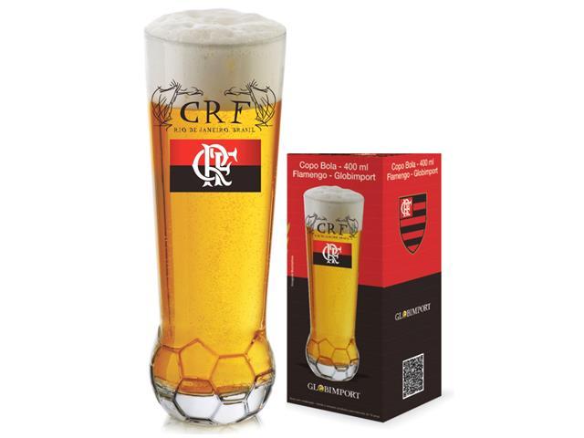 Copo para Cerveja em Formato de Bola Flamengo 370ML