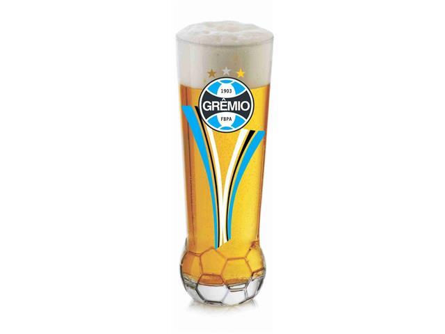Copo para Cerveja em Formato de Bola Grêmio 370ML
