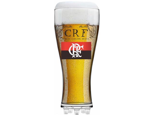 Copo para Cerveja em Formato de Chuteira Flamengo 370ML