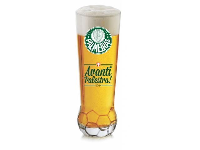 Copo para Cerveja em Formato de Bola Palmeiras 370ML