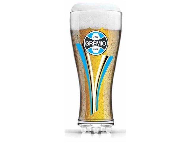 Copo para Cerveja em Formato de Chuteira Grêmio 370ML