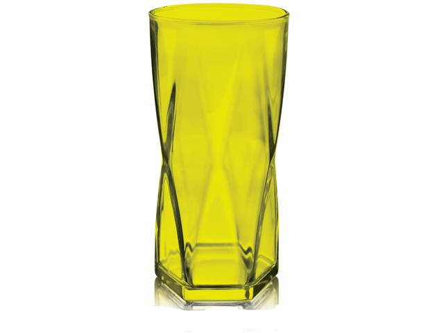 Copo Rombus 465ML Neon Amarelo