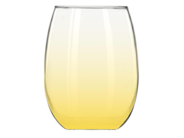 Copo Stemless 430ML Amarelo