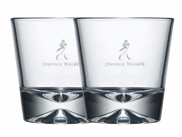 Conjunto Copos de Whisky Johnnie Walker 2 Unidades de 300ML cada