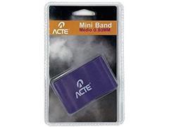 Faixa Elástica Acte Mini Band Médio 0.080mm - 1