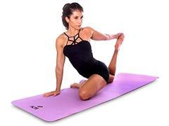 Tapete para Yoga Mat Mastar em EVA Acte Roxo - 2