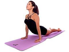 Tapete para Yoga Mat Mastar em EVA Acte Roxo - 1
