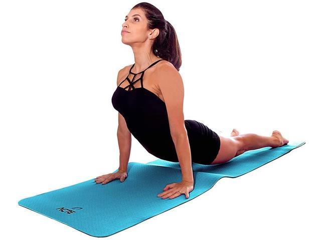 Tapete para Yoga Mat Mastar em EVA Acte Sortido