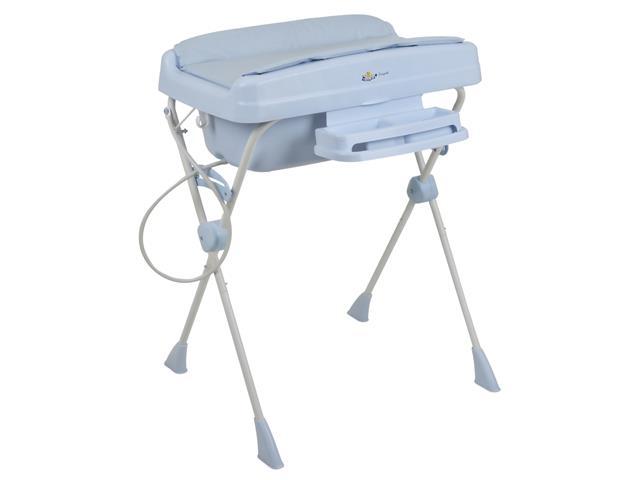 Banheira de Bebê Burigotto Millenia+ Baby Blue