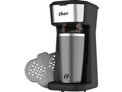 Cafeteira Elétrica Oster OCAF200 2Day Inox 2em1 com Copo Térmico