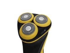 Barbeador Elétrico Gama GSH886 Sport Bivolt USB Preto e Amarelo - 3