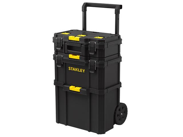 """Caixa Stanley STST83319-1 Quick-Link 3 em 1 com Rodas 7"""""""