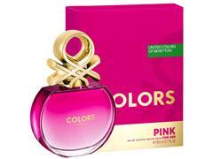 Perfume Benetton Colors Pink Eau de Toilette Feminino 80ML - 0