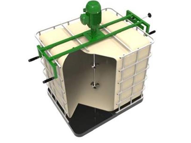 Agitador/Misturador Rápido Grabe FluxoMix C6D-010M com Suporte p IBC