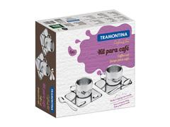 Kit para Café Tramontina Continental 6 Peças - 2