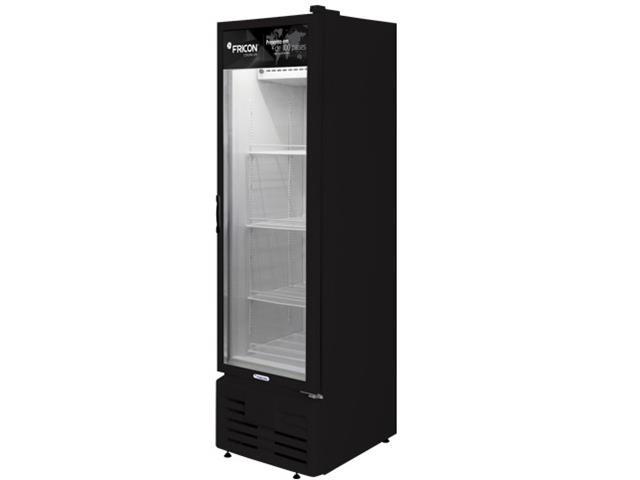 Freezer Vertical Fricon VCFM284 Preto 284 Litros